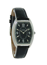 Hush Puppies HP.3447M.2502 Women's Black & Silver Tone Tonneau Analog Watch