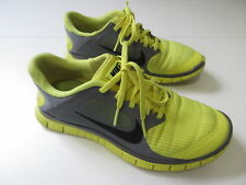 Men's NIKE 'Free 4.0 V3' Sz 7 US Runners Yellow Grey ExCon | 3+ Extra 10% Off