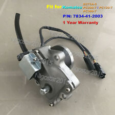 Throttle Motor Governor Fit for Komatsu Excavator PC50 PC75 One-Year Warranty