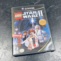 Lego Star Wars II The Original Trilogy Nintendo Gamecube LucasArts 2001 Complete