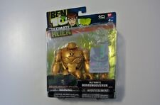 Ben 10 Ultimate Alien Gold Ultimate HUMUNGOUSAUR Action Figure (Bandai)