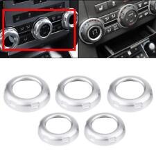 Interior Chrome Control Knob Trim Cover Cap For Land Rover Discovery 4 LR4 10-16