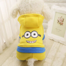 Cartoon Dog Coat Winter Clothes Pet Puppy Doggie Warm Jumpsuit For smll dog