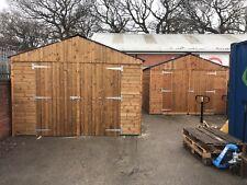REDWOOD Heavy Duty Timber/wooden Garage Workshop shed/building - 12ft x 20ft