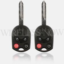 2 Car Key Fob Remote 4B For 2006 2007 2008 2009 2010 2011 2012 Ford Focus