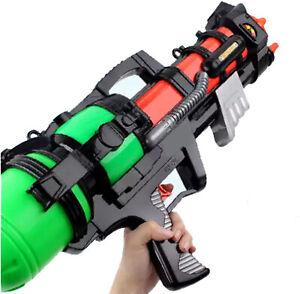 Summer High Pressure Water Gun Long Range Backyard Squirt Toy For Boy Girl Kids