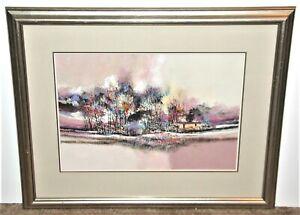 John L. Mendoza Colorado Artist Western Landscape (II)
