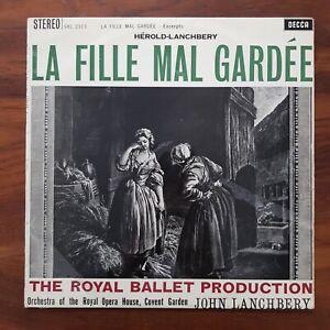 HEROLD LANCHBERY La Fille Mal Gardee SXL 2313 WBG ED1 STEREO TAS VINYL LP