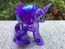 "My Little Pony MLP 4"" Glow Figure Princess Luna Girl Toy New Loose"
