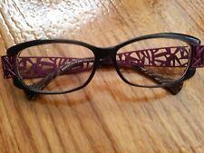 Jean LaFont Essentielle  283 Paris Eyeglass Frame 54[]12-132 Purple Geometric