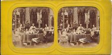 Tissue Hold to Light Stereoview card C1865