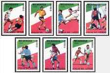 Timbres Sports Football Nicaragua PA1278/84 ** lot 16881