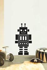 ROBOT No9 Children's bedroom nursery vinyl sticker wall transfer art home decor