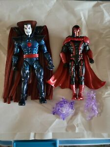 Hasbro Marvel Legends Mister Sinister + Magneto figures