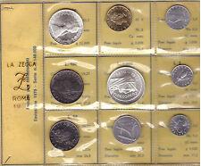 ITALIA: 1970 DIVISIONALE DOPPIO ARGENTO, L. 500 CARAVELLE E L. 1000 COSTITUZIONE
