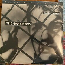 "The 400 Blows / Criterion Collection -12"" Laserdisc New Nib Sealed"