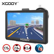 """Xgody 723 7"""" GPS navegador Navegación coche Camión It EU mapa 3D USB"""