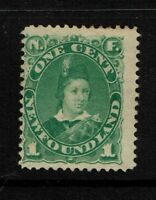 Newfoundland SC# 45, Mint No Gum, Hinge Rem, minor perf toning, see notes -S3938