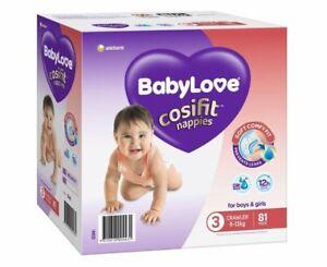 BabyLove Nappies Jumbo Pack Crawler 81 Pack