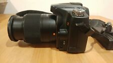Sony A Alpha A100 10.2MP Digital DSLR Camera Black & 18-70mm Lens