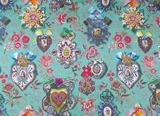 Designers Guild Fabric 'COCARDE' 1.5 METRES (150cm) GLAUQUE - CHRISTIAN LACROIX