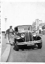 76 DIEPPE PHOTO AUTOMOBILE RENAULT VIVASTELLA HOTEL DU RHIN 1935
