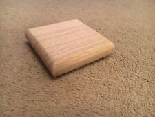 Solid Oak Newel Cap, Fence Post, Stair Parts