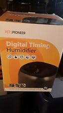 Petspioneer Reptile Humidifier Digital Timing Fog Machine with Double Hose 4 L