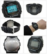 DW-5600E-1V Schwarz G-Shock Casio Uhren Digital Resin Bands