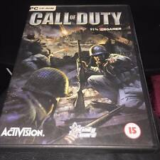Call of Duty PC CD ROM Completo con Manual