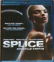 Splice [Blu-ray] Bilingual Adrien Brody Free Shipping in Canada