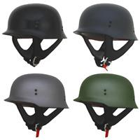 AFX FX-88 Half Face Riding Motorcycle Street Solid Helmet