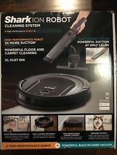 Shark ION Robot Vacuum Cleaning System S87 with Wi-Fi RV851WV Brand New Sealed