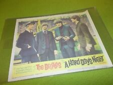 THE BEATLES A Hard Day's Night LOBBY CARD 11x14