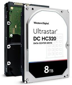 "WD 8TB SATA 3.5"" Internal HDD Compatible in Desktop Computer PC Mac NAS CCTV DVR"