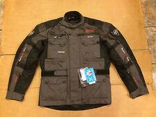"RK SPORTS 'Storm' Mens Textile Motorbike / Motorcycle Jacket UK 38"" Chest (LBA)"