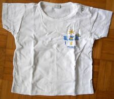 T-shirt manches courtes blanc 2 ans Mustela