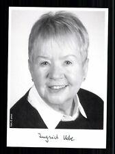 Ingrid Uebe TOP AK Orig. Sign. Schriftsteller +71212