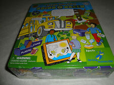 FACTORY SEALED THE MAGIC SCHOOL BUS GOING GREEN GAME .