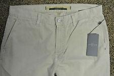 7 For All Mankind KHAKI Jeans RARE Sample 32X33 NWT$195 Standard Straight Leg!