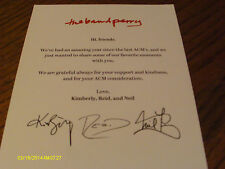Band Perry 2014-2015 Calendar & ACM Voter Request
