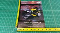 1999 Buell X1 Lightning Thunderstorm Harley-Davidson 1-Page Ad / Color Photo