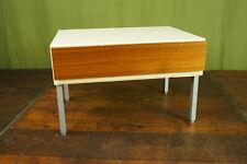 60er Vintage Mini Sideboard Nachtkommode Flötotto Nussbaum Nachttisch MidCentury