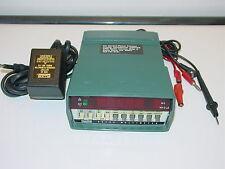 Vintage FLUKE 8040A Digital Ohm/DC/AC Multimeter w/ AC Power Adapter, USA