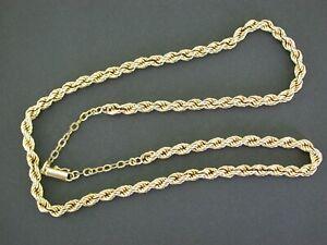 Kordelkette  Goldkette Halskette14 kt