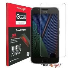 Protector cristal templado Lenovo Moto G5 Plus Vidrio Templado Estuyoya G5 Plus