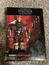 "Star Wars The Black Series GENERAL GRIEVOUS 6"" Action Figure"