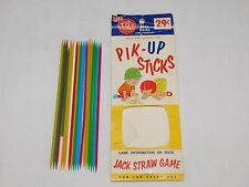 VINTAGE TOY HOUSE  PIK UP STICKS GAME