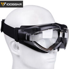 IDOGEAR Tactical Goggles Fan Version Anti-Fog Dust Airsoft Eyewear Windproof