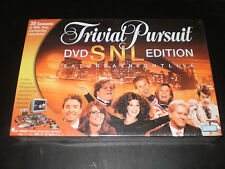 TRIVIAL PURSUIT DVD SNL EDITION PARKER BROS. 2004 FACTORY SEALED